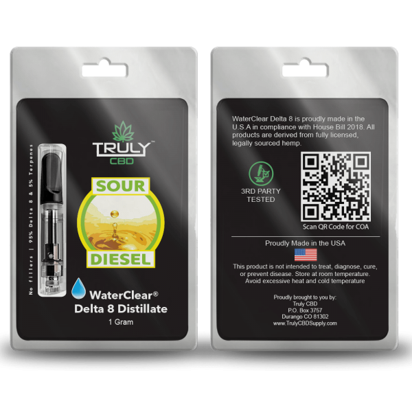 Sour Diesel Delta 8 Cartridge 1g
