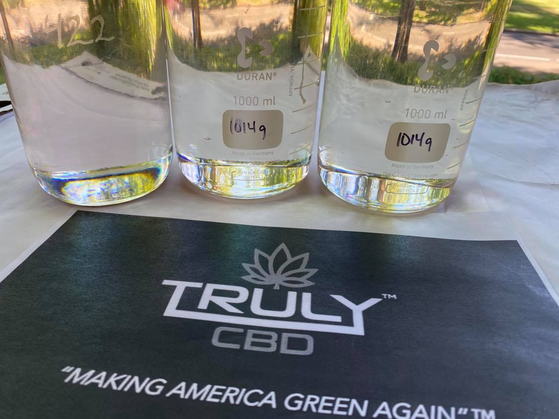 Truly CBD Water Clear Delta 8 Distillate